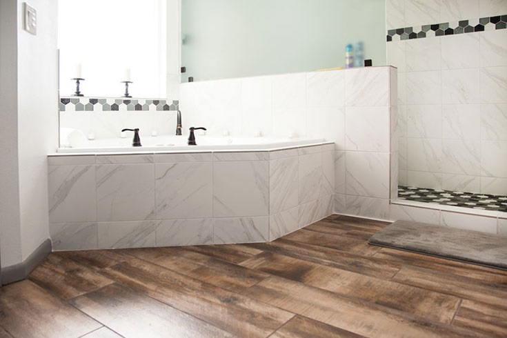 Which flooring is best for the washroom?